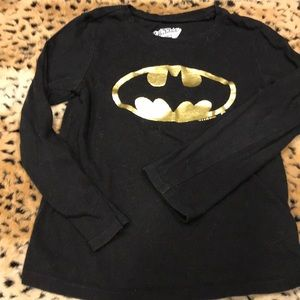 Old Navy child's Batman Long Sleeve T